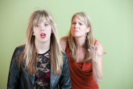 Unhappy Mother