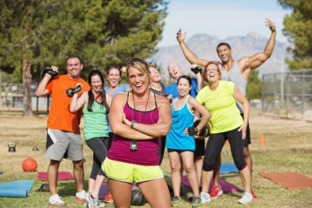 Happy Boot Camp Fitness Group