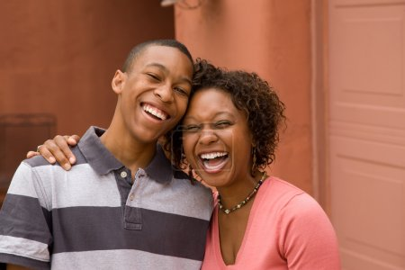 African-American single-parent family