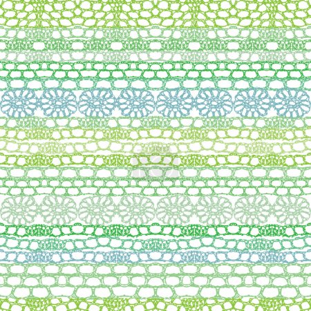Lace seamless crochet pattern. Vector background.