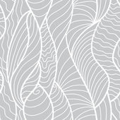 Hand drawn seamless pattern with various elements lines waves