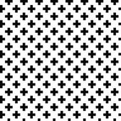 Monochrome elegant seamless pattern Black and white pattern Vector ornament Belorussian traditional ornament