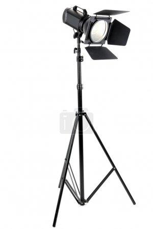 Photo pour Studio éclairage isolé sur blanc - image libre de droit