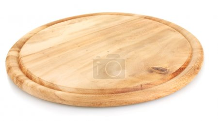 Photo for Cutting board isolated on white - Royalty Free Image