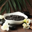 Composition with cosmetic clay for spa treatments,...
