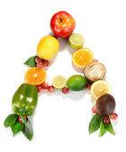 Vitamín a zaúčtované výrobky, které obsahují izolované na bílém