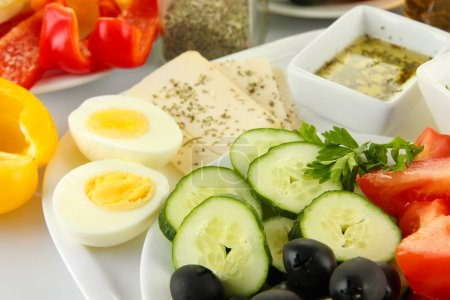 Photo for Traditional Turkish breakfast close up - Royalty Free Image