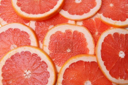 Photo for Ripe grapefruit close-up - Royalty Free Image