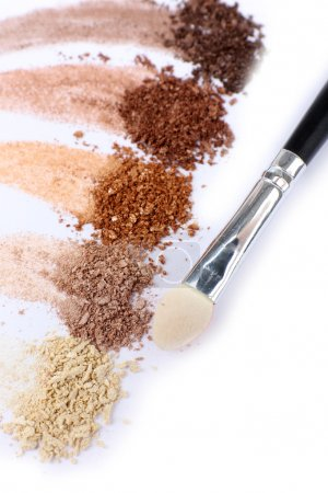 Crushed eyeshadow