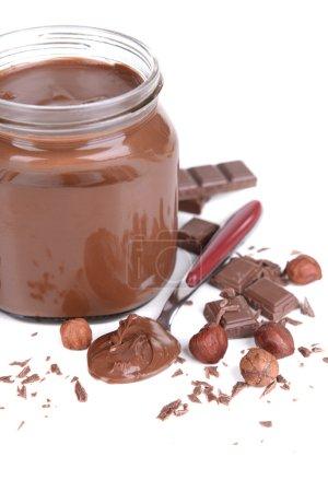 Sweet chocolate cream