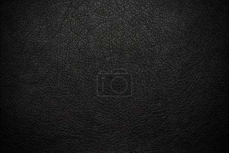 Photo for Black leather background - Royalty Free Image