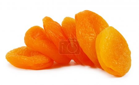 Photo for Dried apricots close-up - Royalty Free Image