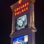 Постер, плакат: Las Vegas Celine Dion