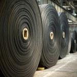 Material rolls...