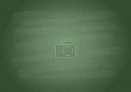 Illustration for Empty on a green school board - Royalty Free Image