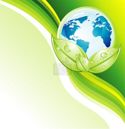 Environment Earth Businees Card