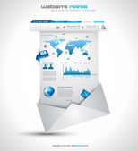 Quality clean web elements for blog and sites.