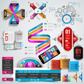 Mega Collection of quality Infographics objects .