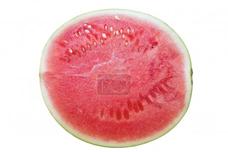 Seedless Watermelon Half Top View