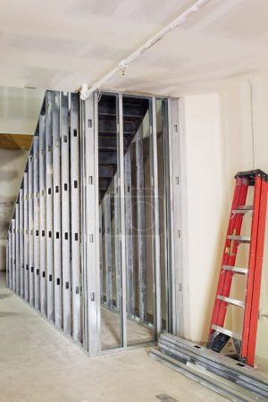 Metal Studs Framing for Staircase