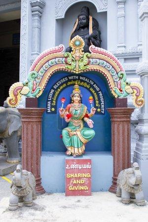 Maha Luxmi Hindu Goddess Outside