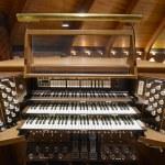 Church Pipe Organ Keyboards Pedalboard and Control...