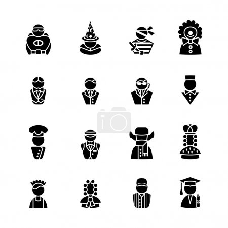 Illustration for Computer icon set - Royalty Free Image