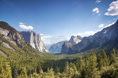 Photo pour La vallée d'Yosemite, yosemite national park, Californie, Etats-Unis - image libre de droit