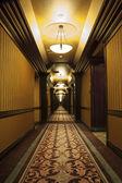 Long Art Deco Corridor