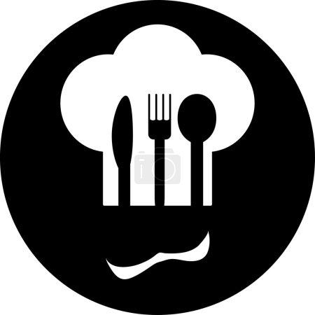 Illustration pour Menu restaurant affiche rétro - image libre de droit