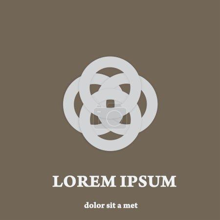 Luxury symbol. Stylish sign. Creative icon.