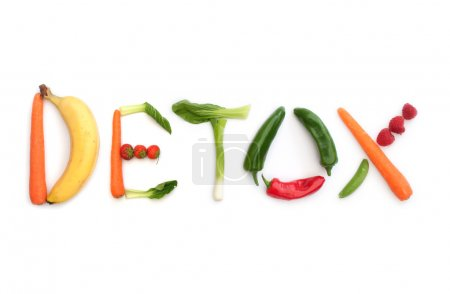 Photo for Detox spelt using fruits and vegetables - Royalty Free Image