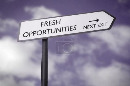 Fresh opportunities