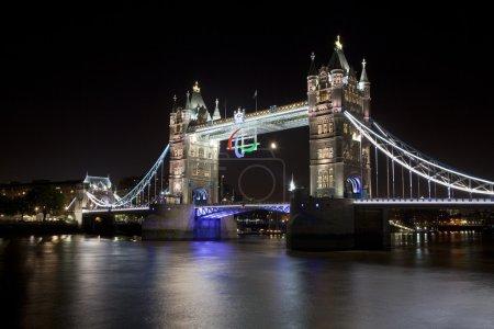 Photo pour Tower and the Paralympic Logo (August - September 2012). - image libre de droit