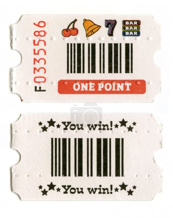 Arcade Ticket