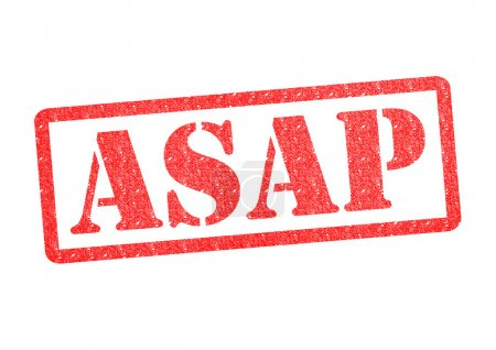 ASAP Rubber Stamp