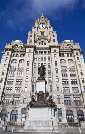 Royal Liver Building and Alfred