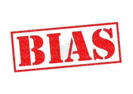 Photo pour Biais de tampon rouge sur fond blanc. - image libre de droit