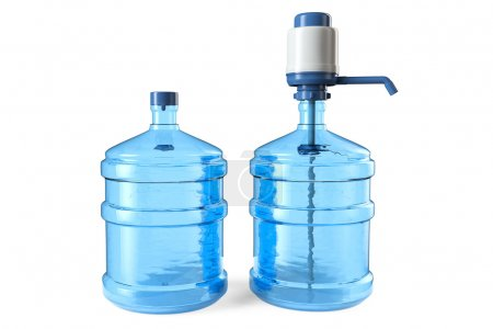 19 liters Bottles of drinking water with a manual ...