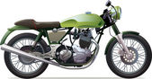 Klasický závodní motocykl