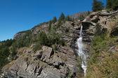 Lillaz vodopády - aosta valley - Itálie
