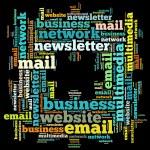E-mail info-text graphics and arrangement concept ...