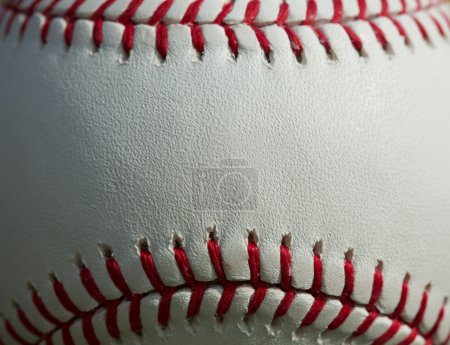Baseball Macro Close up