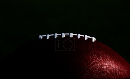 American Football Laces Isolated