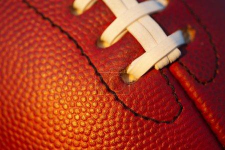 American Football Macro Close up