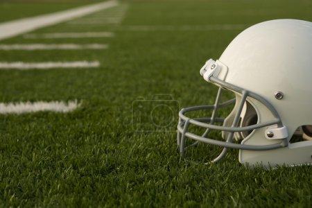 American Football helmeton