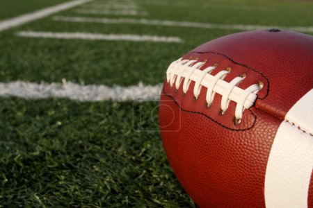 Football close up
