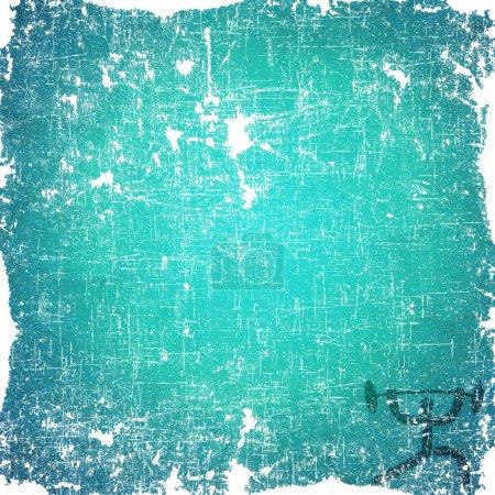 Photo pour Icône de poids sport sur fond vieux papier et texturé - image libre de droit