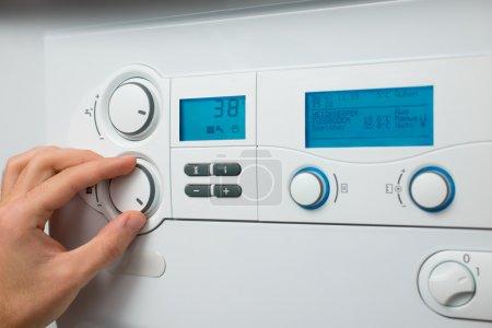 Heating boiler
