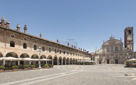 Ducale square, Vigevano